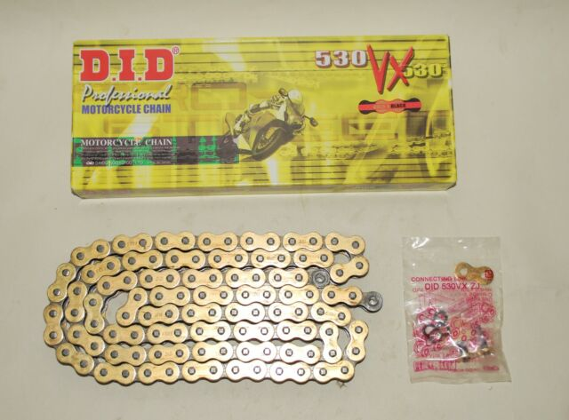 DID Gold X ring Chain for Suzuki Gsf600 95 99 Gsf1200 96 05 Bandit