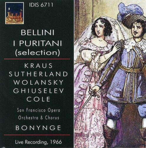 Bellini / Kraus / San Francisco Opera Orchestra - I Puritani Selection [New CD]