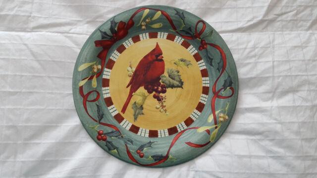 Lenox winter greetings cardinal dinner plate ebay lenox winter greetings cardinal dinner plate new m4hsunfo