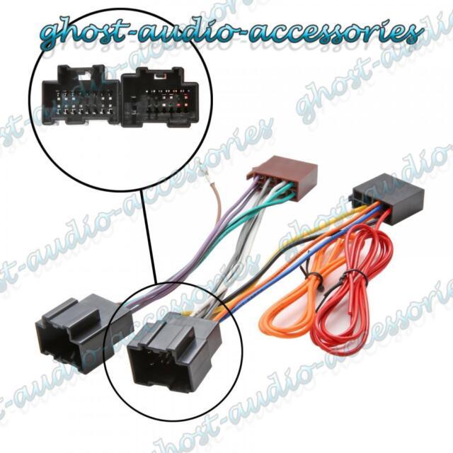 car stereo radio iso wiring harness connector adaptor cable ais2124 rh ebay com 2003 saab 9-3 radio wiring harness 2003 saab 9-3 radio wiring harness
