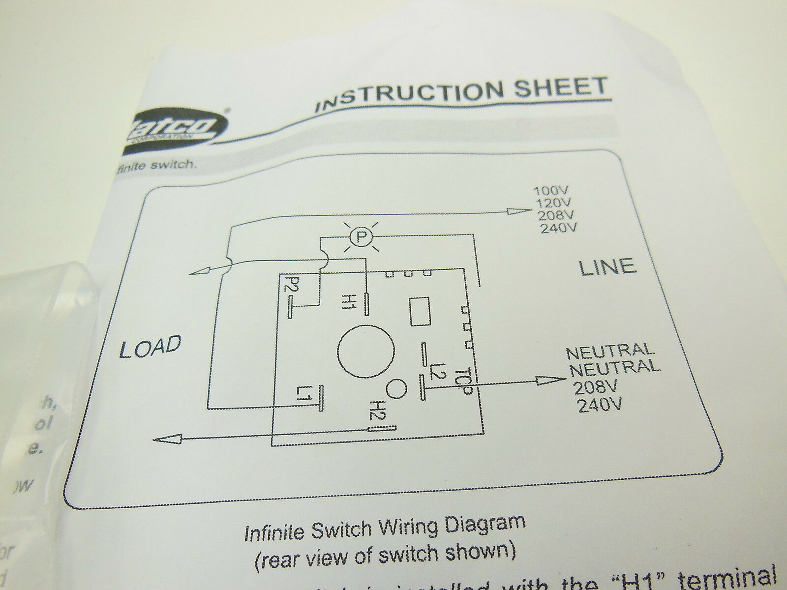 Amazing Infinite Switch Wiring Diagram Image Collection - Wiring ...
