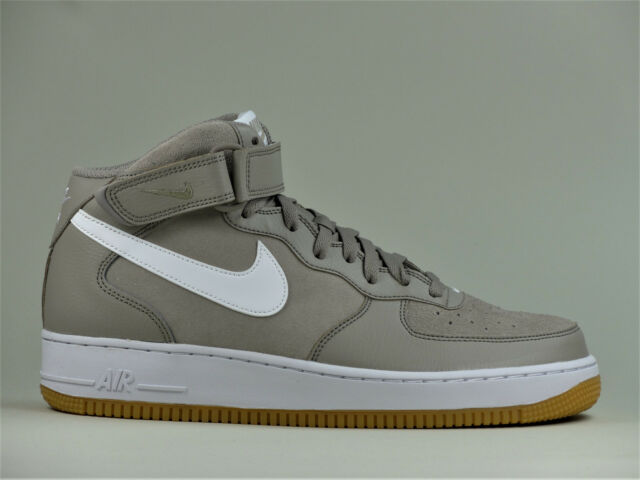 Nike Air Force 1 ONE met 07 Scarpe Uomo Top Alto da ginnastica in pelle