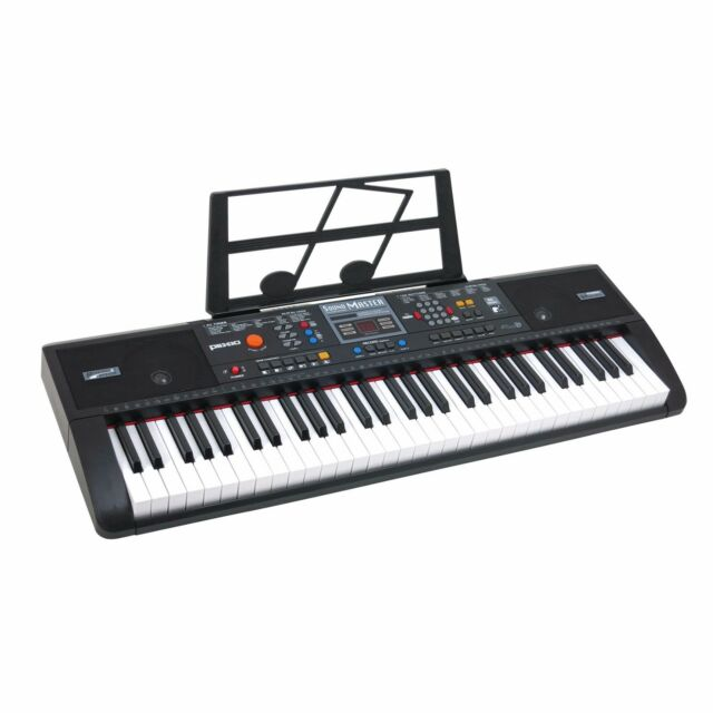 plixio 61 key full size electronic music keyboard electric piano with usb mp3 in ebay. Black Bedroom Furniture Sets. Home Design Ideas
