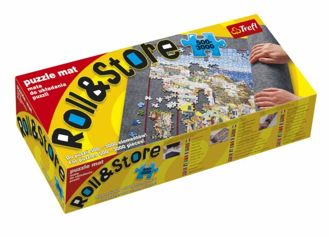 Jumbo Large 500-3000 Roll Up Store Jigsaw Puzzle Mat Tube Easy Portable Storage