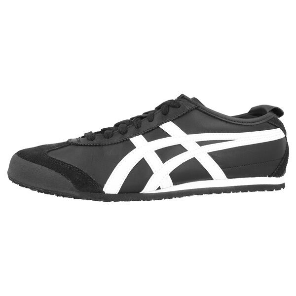 ASICS Onitsuka Tiger Mexico 66 Scarpe Black White dl408 9001 Retro Sneaker