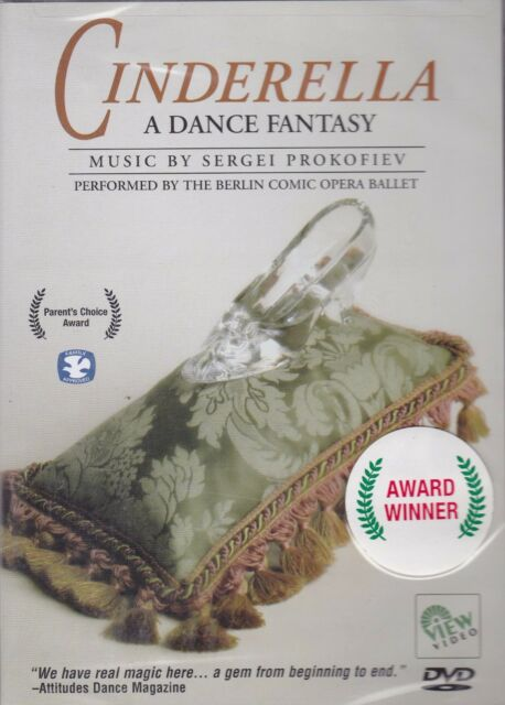 Cinderella - A Dance Fantasy DVD Performed By The BERLIN COMIC OPERA BALLET