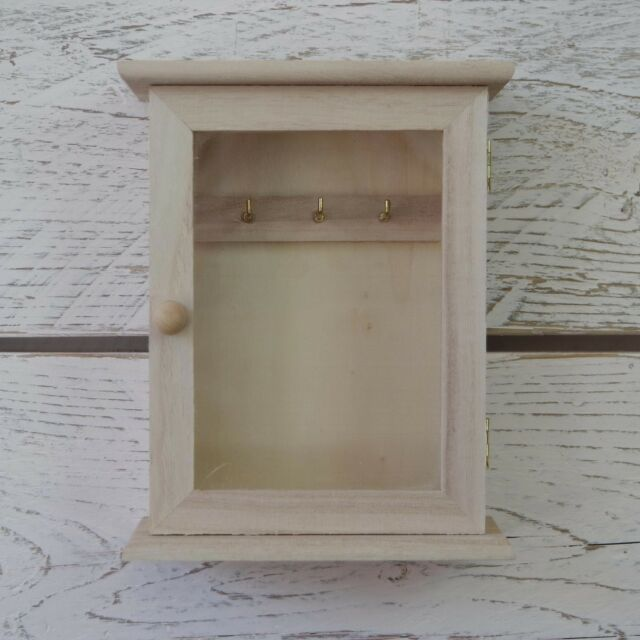wooden key box creativ 1 piece wooden key cabinet with glass panel door metal key