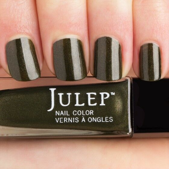 Julep Maven Nail Polish Nailpolish Kendra Army Green Frost | eBay