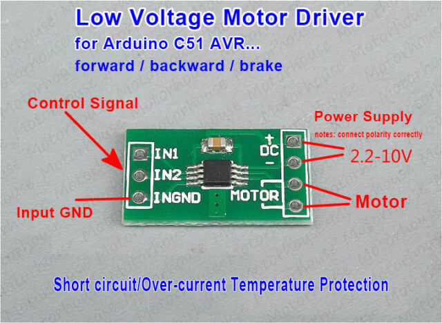 Micro driver new arrival micro brushless motor driver for for Low voltage motor control