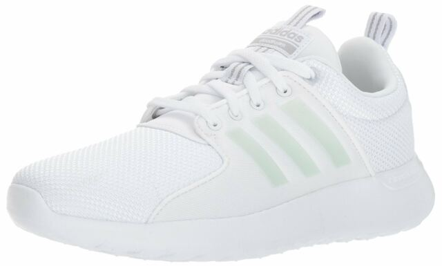 adidas Neo Men's CF Lite Racer Running Shoe White/White/Grey Two 9 D(M) US