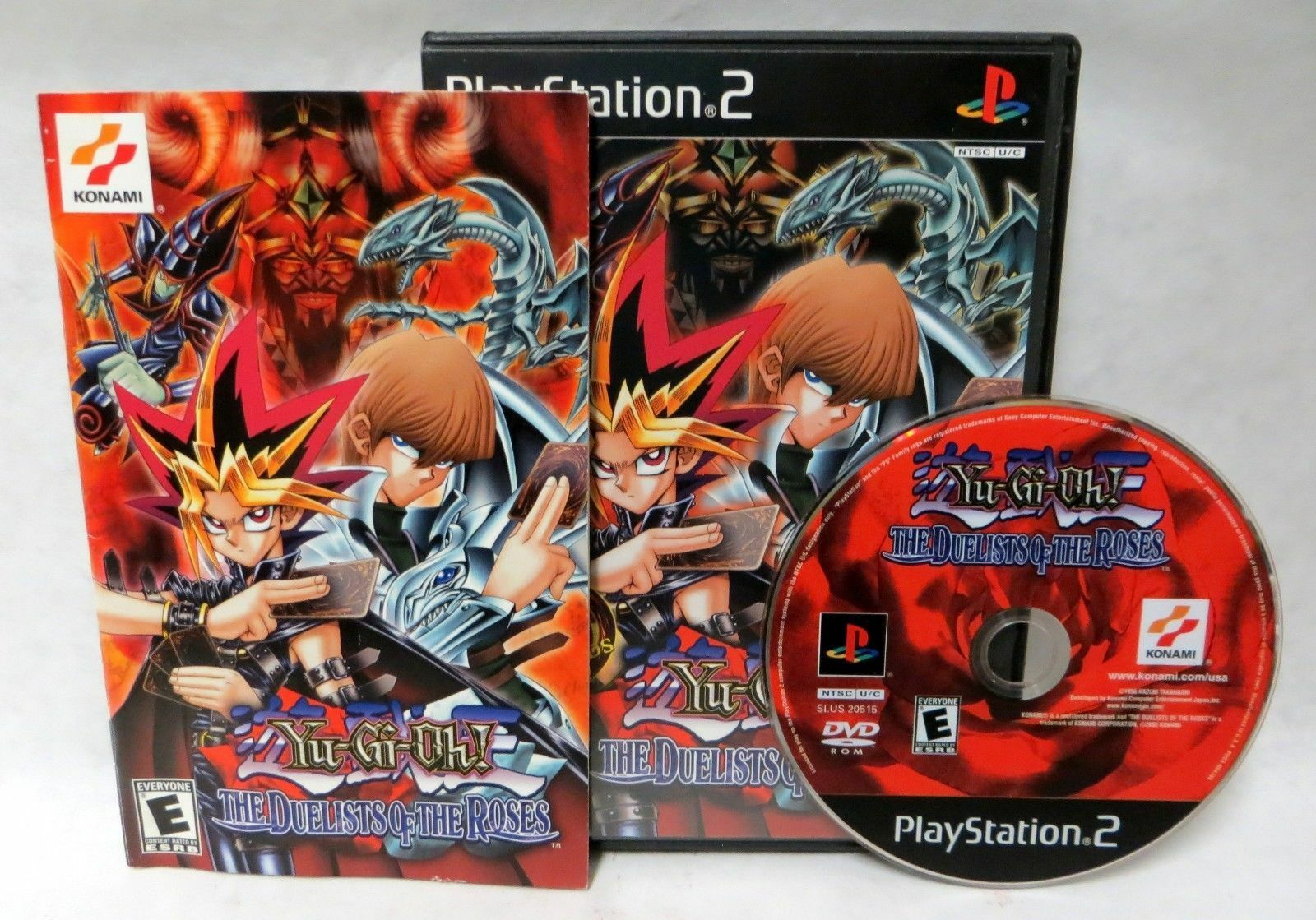 yu gi oh the duelists of the roses sony playstation 2 2003
