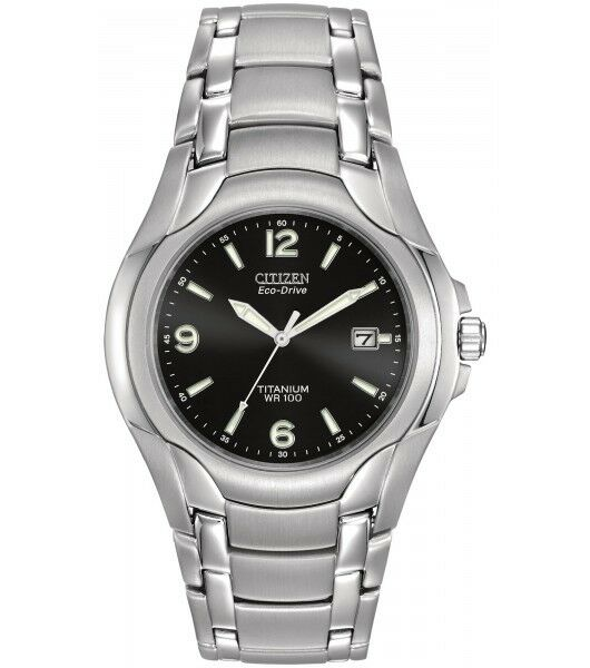 Citizen Men's Eco-drive 180 Titanium Watch Bm6060-57f