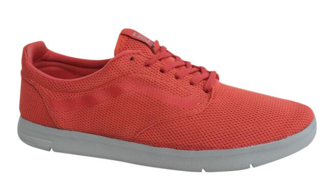 Vans Off The Wall ISO tessile FORMATORI con lacci rosso corallo scarpe vhhzu0 F