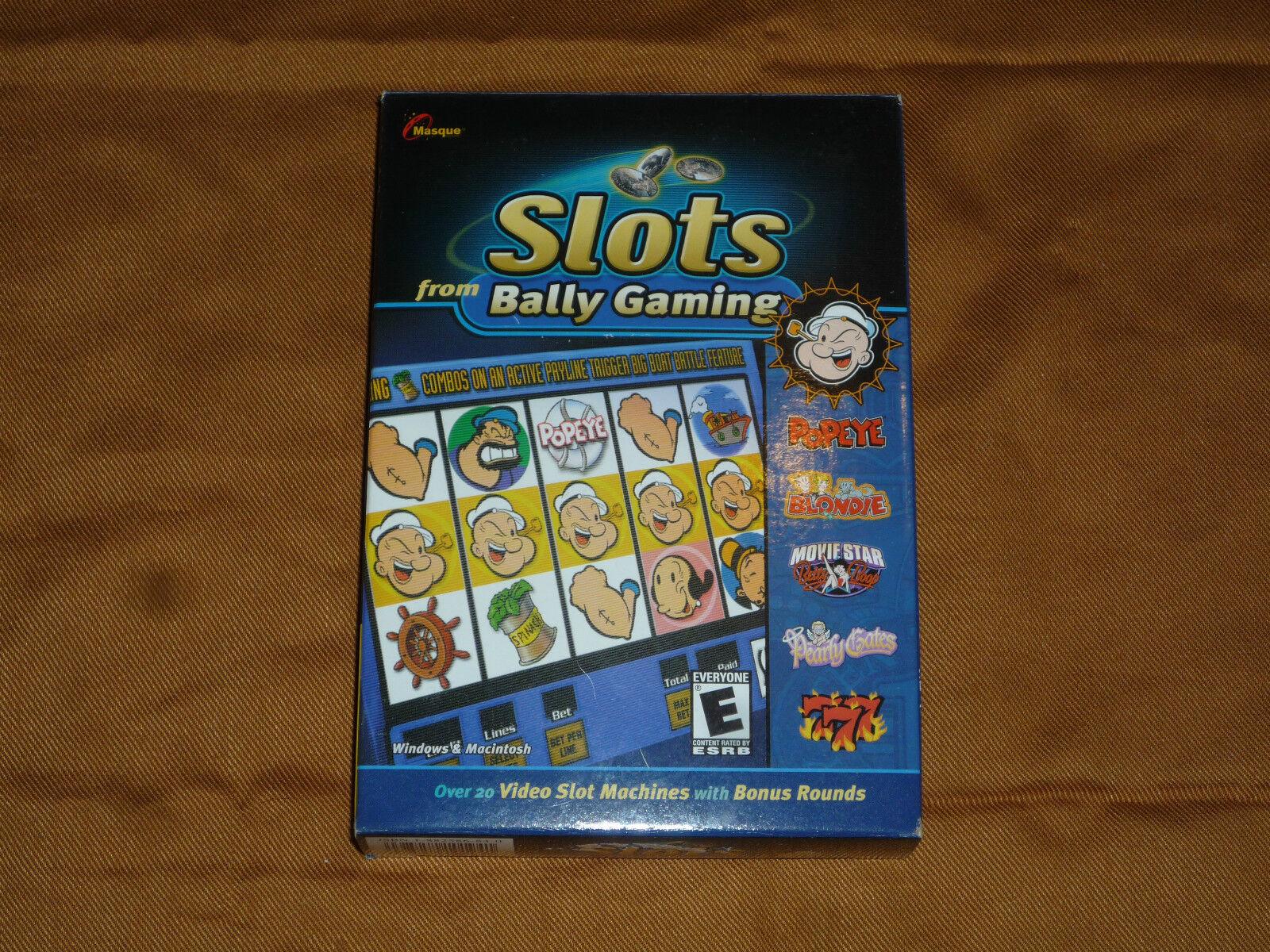Masque slots from bally gaming mcd au casino de chamonix
