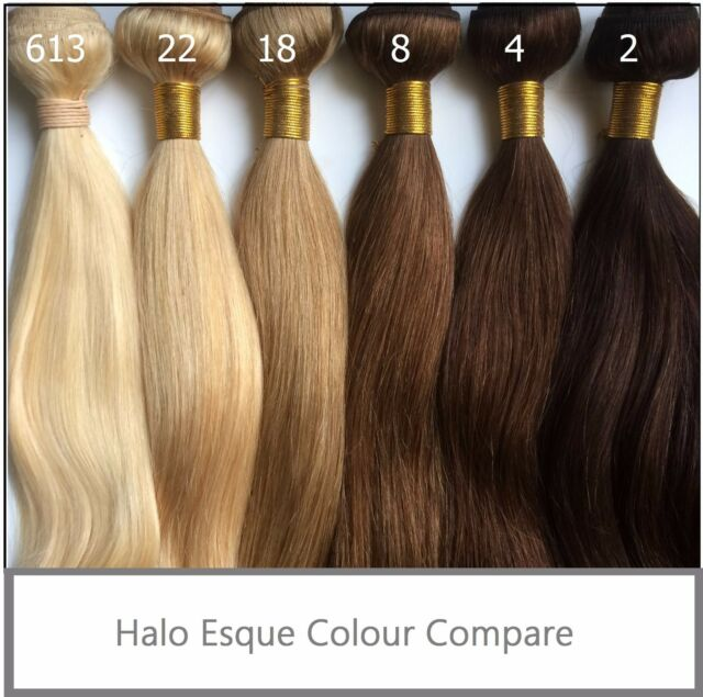 Halo Esque Hair Extensions Miracle Secret Wire 110g 10g Soft High
