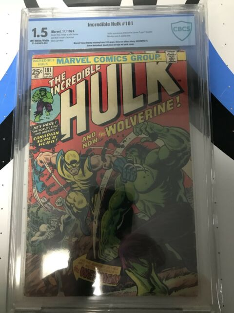 The Incredible Hulk #181 (Nov 1974, Marvel) CBCS 1.5