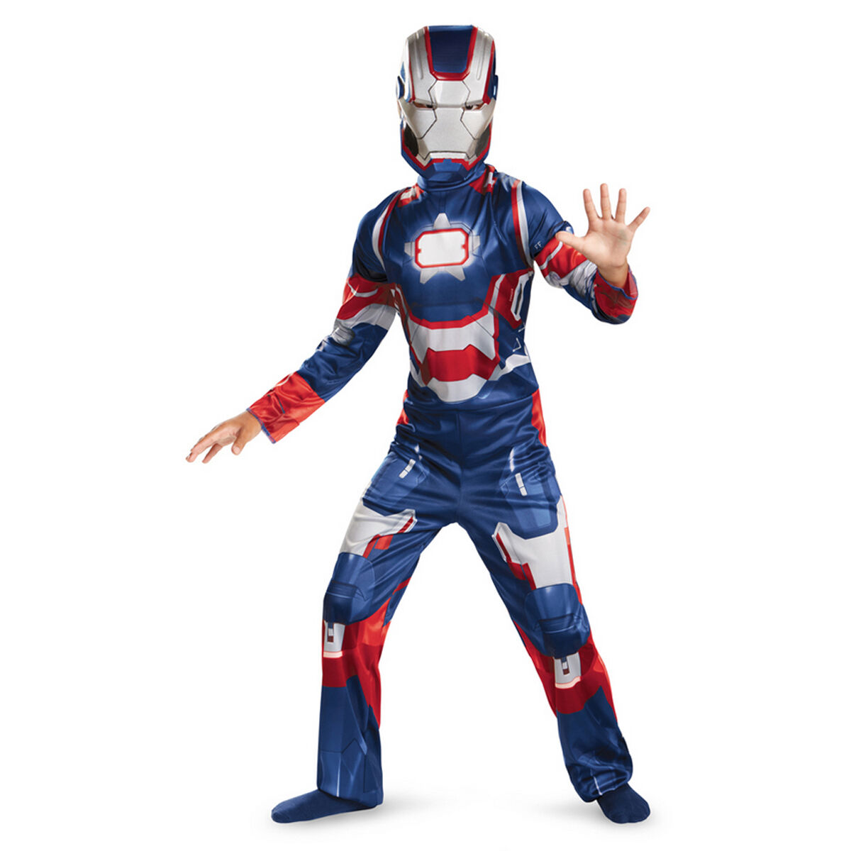Picture 1 of 1  sc 1 st  eBay & Marvel Iron Man 3 Patriot Boys Classic Costume 3t-4t | eBay
