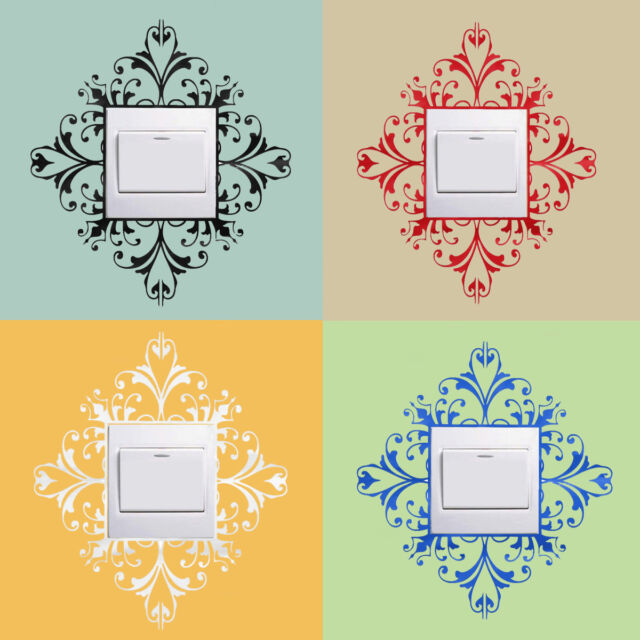 Contemporary Damask Decals Wall Art Image - All About Wallart ...