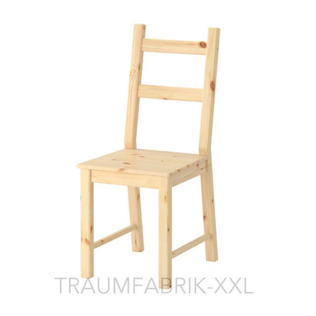Ikea legno massello Sedia da cucina Pino Ivar in & Natura | eBay