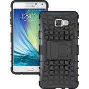 Samsung galaxy A7 2016 new Black dotted rubber si...