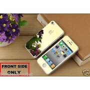 Apple iPhone 4S - Gold Tempered Glass - Mirror Sh...