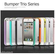 New Walnutt Tri Colour Hybrid Soft Bumper Case Fo...
