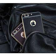 Luxury PU Leather Shockproof Soft TPU Back Case C...
