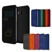 Imported DOT View Smart Flip Case,Cover for HTC O...
