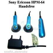 New BLUE 100% OEM HPM-64 Out Ear Stereo Handsfree...