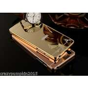 For Sony Xperia Z1 Mirror Acrylic Back Case Cover...