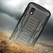 - Armor Hybrid Impact Rugged Case Stand Cover Hol...