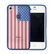 Cool US Flag Design Hard Plastic Back Cover Case ...