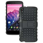 Rugged Hybrid Armor Kickstand Case / Cover for HT...