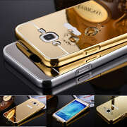 LUXURY MIRROR  BACK ALUMINIUM BUMPER CASE COVER F...