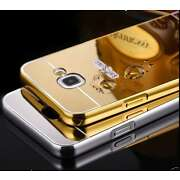 Metal Bumper Mirror Back Cover Case for Samsung G...