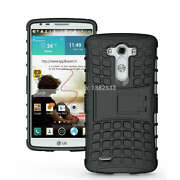 Hybrid Rugged Shockproof Armor Hard kickstand Cas...