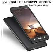 Full 360 Degree Protection Front & Back Case Cove...
